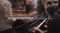 "Elevation Creative: In Your Presence (Christmas Piano Remix) by Elevation Media. For this creative element, our worship team took an original worship song, ""In Your Presence,"" combined it with the Christmas classic ""O Come All Ye Faithful"" and used all parts of a grand piano to create a fun, unique video we showed during our Timeless Christmas worship experiences."