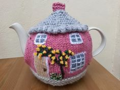 Knitted Cottage Tea cosy Pattern on Ravelry
