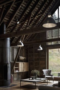 Beautiful barn restoration with a slight industrial feel | Project by MW WORKS