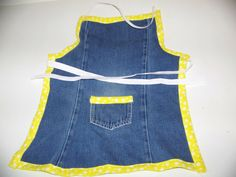 Little Girls Apron by TonyandLyndie on Etsy, $12.00
