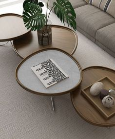 Naiá Tables by Lucas Takaoka •#Product_Only Coffee Table Design, Diy Crate Coffee Table, Design Table, Centre Table Design, Contemporary Coffee Table, Modern Side Table, Modern Coffee Tables, Contemporary Design, Modern Design