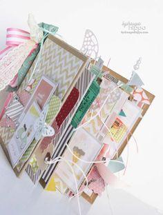 Pretty Little Party 6x6 Mini Book Kit -