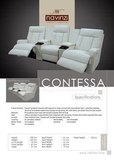 contessa Sofa, Couch, Polyurethane Foam, Plywood, Hardwood, Contemporary, Fabric, Home Decor, Hardwood Plywood