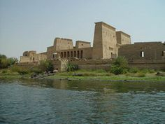 """Philae Island was a rocky island in the middle of the River Nile, south of Aswan . It was called in Hieroglyphic """"Apo"""" which means Ivory"""