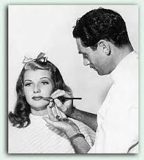 Clay Campbell with Rita Hayworth