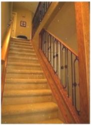 Great Absolutely Free Carpet Stairs open Style Stairs are the most common invest. Great Absolutely Free Carpet Stairs open Style Stairs are the most common invest… Wood And Carpet Stairs, Striped Carpet Stairs, Patterned Stair Carpet, Striped Carpets, Dark Carpet, Best Carpet, Modern Carpet, Stairs Colours, Farmhouse Stairs
