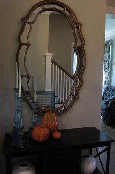 Cool mirror frame