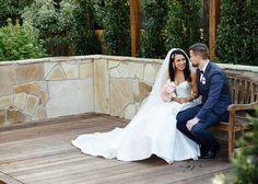 bride and groom chatting candid #wedding #weddingphotography #melbourne