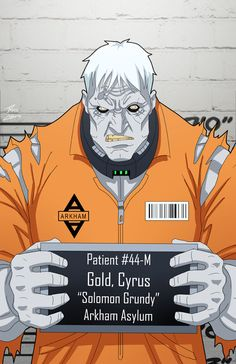 Cyrus Gold locked up by phil-cho