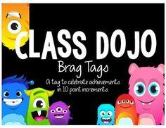 Brag Tags - Class Dojo Style