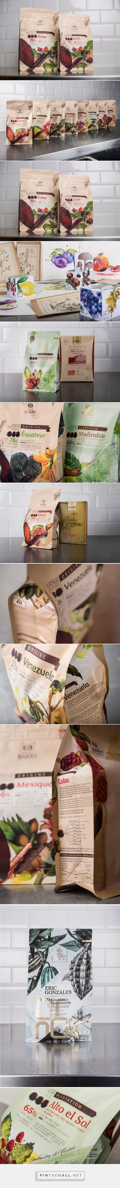 Cacao Barry         on          Packaging of the World - Creative Package Design Gallery - created via http://pinthemall.net