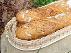 Pan Bread, Korn, Pancakes, Food And Drink, Menu, Cookies, Baking, Breakfast, Breads