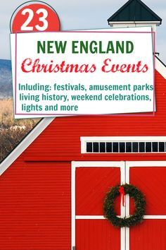 Enjoy Christmas events in New England and get in the spirit of the season. Events in Boston, New Haven, Kennebunkport Maine, Woodstock Vermont and Portsmouth New Hamphire. There is something for everyone to celelbrate Christmas in New England.