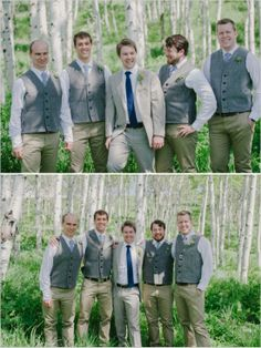 groomsman looks http://www.weddingchicks.com/2013/10/09/romantic-ranch-wedding/