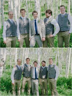groomsman looks http://www.weddingchicks.com/2013/10/09/romantic-ranch-wedding/