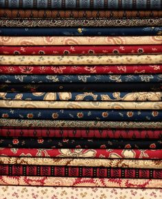 Love it. Carolina by Jo Morton for Andover Fabrics. Available at Quilted Crow.