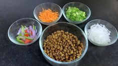 Healthy Salad Recipes, Healthy Snacks, Indian Cooking Videos, Colorful Vegetables, Chickpea Salad, Healthy Lifestyle, Beans, Food, Health Snacks