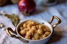 Zuppa calabrese di fagioli bianchi e patate