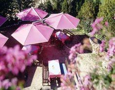 Innovativer Ampelschirm MAY Rialto ☂ Ein Sonnenschirm Mit Drei Dächern ☂  Lila ☂ Toll Für Den