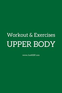 workout and exercises - upper body Chest Workouts, Easy Workouts, Cardio Workouts, Workout Routines, Fitness Diet, Health Fitness, Crossfit, Exercise Physiology, Bodybuilding Diet