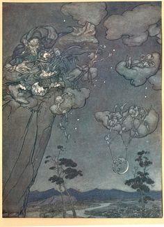 Arthur rackham Rip van winkle 1904 pl a | Explore janwille… | Flickr - Photo Sharing!
