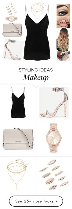"""Untitled #6027"" by sigalv on Polyvore featuring IRO, Michael Kors, Forever 21 and Mudd"