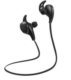 Bluetooth In-Ear Headphones TaoTronics Wireless Sweatproof Sport Earphones Earbuds (Bluetooth Balanced Audio, Build-in Mic, aptX, CVC Noise-Cancelling)-Black Best Earbuds For Running, Running Headphones, Sport Earbuds, Best Noise Cancelling Earbuds, Bluetooth In Ear Headphones, Smartphone, Headset, Christmas Stuff, Christmas Gifts