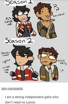 Just some cute comic pictures of Klance None of these pictures are mine Credit to artists Voltron Memes, Voltron Comics, Voltron Fanart, Form Voltron, Voltron Ships, Voltron Klance, Klance Comics, Cute Comics, Samurai