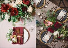 With a beautiful, burgundy/marsala & gold color palette, today's wedding coloridea isperfect for fall and winter weddings. Burgundy is one of the most popular colors for fall nuptials,it looks very lush and no...
