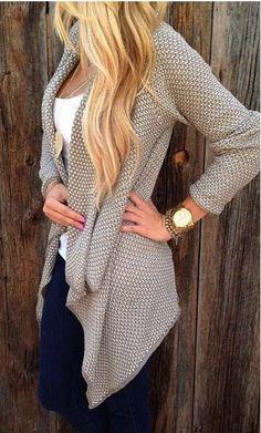 2015 Feminino Casual Loose Plus Size Knitted Cardigan Women Fashion Irregular sueter Oversized Long Cardigan Women Sweater GH082