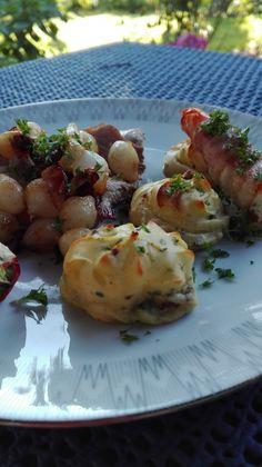 IMG_20160819_182103 Broccoli Pesto, Danish Food, Bacon, Food Pictures, Baked Potato, Tyl, Baking Recipes, Tapas, Side Dishes