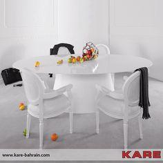 Design Tisch, Kare Design, Office Desk, Designer, Table, Furniture, Home Decor, Diner Menu, Dining Table Chairs