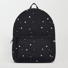 stars pattern Backpack by anyuka Cute Mini Backpacks, Stylish Backpacks, Girl Backpacks, Mochila Jansport, Cute School Bags, Accesorios Casual, Backpack For Teens, Girls Bags, Backpack Purse