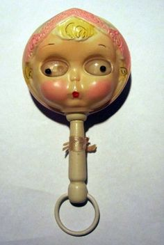 Vintage baby rattle.