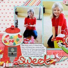 Sweet Scrapbook Layout by Jana Eubank svgfiles