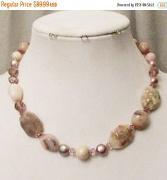 SALE Pink Peruvian Opal Jewelry Pink Opal by 3DesignDimensions