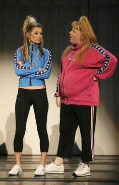 Kate Moss is Vicky Pollard's sister Katie in Little Britain...always fun to work with Matt, DW and Kate!!