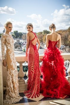 serious glamour! beautiful red from the right!
