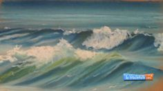 How to Draw Waves - Soft Pastels