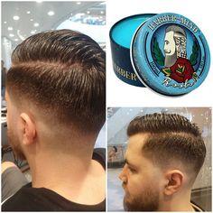 #howtogetthelook by David Braboveanu  Efect de stralucire, fixare medie si lotiune solubila in apa, cu ulei de Tsubaki.  Dupa aproape 20 de ani de experienta, pornind de la vechile frizerii si ajungand la cele moderne, dupa incercarea celor mai bune produse de pe piata, afost inventata lotiunea Roots, prima lotiune 100% fabricata in Italia. #gettssalons #gettsmen #haircut #barbershop  Pentru programari, vizitati site-ul. Barber Shop, Get The Look, Romania, How To Get, Modern, Shopping, Trendy Tree, Barbers, Barbershop