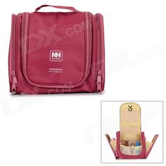 NatureHike Outdoor Travel Large-Capacity Toiletries Makeup Storage Wash Bag - Purple