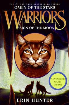 Start reading Warriors: Omen of the Stars Sign of the Moon, a Warrior cats book by Erin Hunter. Warrior Symbols, Moon Hunters, Kids Chapter Books, Warrior Cats Books, Childrens Ebooks, Comic, Reading Levels, Book Series, Audio Books