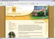 IRONSTONE SPRING FARM Lancaster, PA http://www.ironstonespringfarm.com