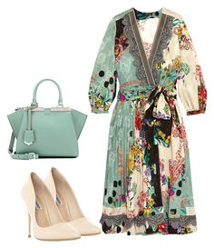 """Untitled #164"" by glamgurl32 ❤ liked on Polyvore featuring Etro, Steve Madden and Fendi"