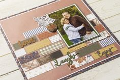 The first thing you need to know about making a scrapbook is that it isn't a complicated process at all. Scrapbooking isn't just for the 'crafty' person among Scrapbook Examples, Scrapbook Titles, Scrapbook Sketches, Scrapbook Page Layouts, Scrapbook Cards, Scrapbook Designs, Bridal Shower Scrapbook, Wedding Scrapbook, Paper Bag Scrapbook