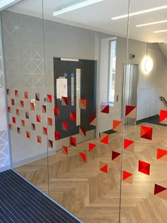 Bespoke Cut Window Graphics - Case Study UCL