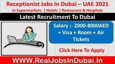 Receptionist Jobs In Dubai - UAE 2021 Dubai Hotel, Dubai Uae, Dubai Work Visa, Air Arabia, Airline Jobs, Receptionist Jobs, Amazon Work From Home, Amazon Jobs