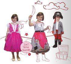 Disfraces de piratas para niños y niñas