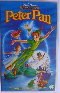 MDC: VHS-tape Peter Pan, Dutch