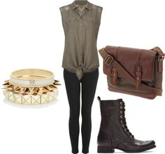 """""""Olive"""" by dreamsofrunningaway on Polyvore"""